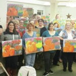 Sip and Paint at Bell Gardens