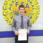 Local FFA member receives $1,000 grant