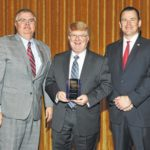 OESCA honors SSCC's Dr. Kevin Boys for leadership