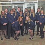 McClain FFA in top 10 at district contest