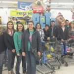 McClain FFA buys gifts for needy kids
