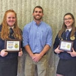 McClain FFA competes at state contest
