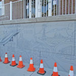 Mural to bloom in Spring