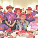 Precious Pearls attend Christmas party