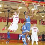 Local basketball teams battle it out