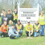Dodson Township Trustees Trash Clean-up Day