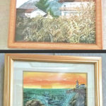 New artists on display at library