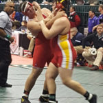 Cluff makes state wrestling appearance