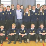 FFA officer teams serve at Ag Is Everyone's Business