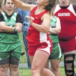 Fairfield, Lynchburg-Clay, and Whiteoak track and field athletes travel to Fairfield Union High School to participate in the Region 11 track and field championships