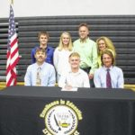 L-Clay's McCammon signs to run Cross Country for Wilmington College