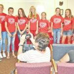 Hillsboro Middle School girls track and field team recognized at school board meeting