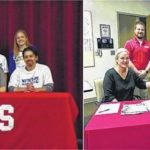 Local students sign LOI's