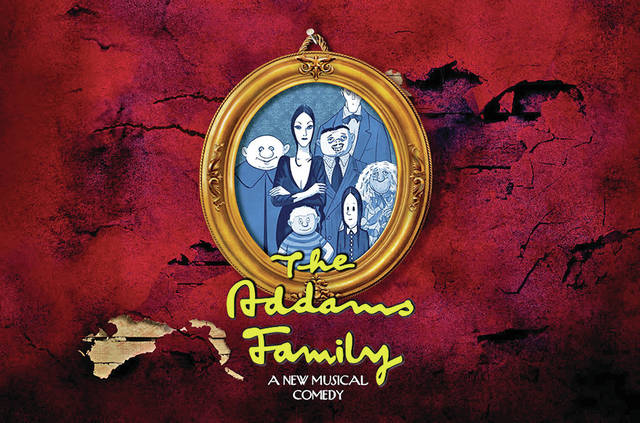 """""""The Addams Family"""" will take the stage July 13-16 at the Wilmington College Hugh G. Heiland Theatre."""