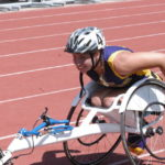 Kaylee Hurley of McClain repeats as state champion in the girls seated 800-meter run