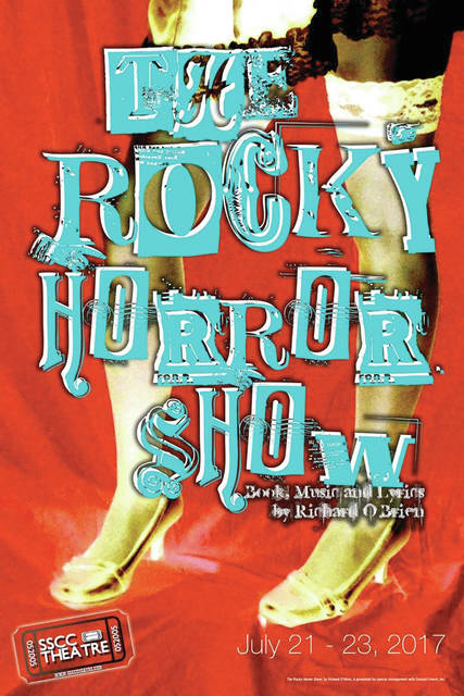 """The Rocky Horror Show"" will be presented July 21-23 at the Southern State Community College Central Campus in Hillsboro."