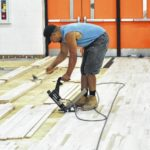 Whiteoak High School gets new gym floor; part of ongoing district renovations