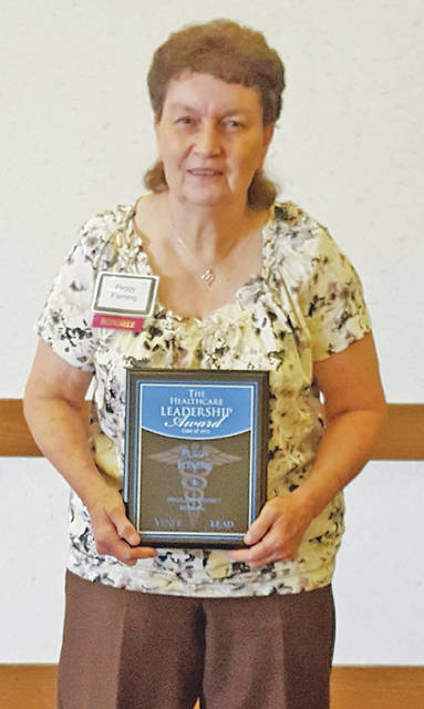 "Highland District Hospital has announced that Peggy Fleming was nominated for the Healthcare Leadership Award Class of 2017. This award honors the region's leading health care professionals who strive to improve not only the everyday lives of their patients and colleagues, but their community as well. The award recognizes those whose invaluable contributions to their organization, as well as their personal leadership characteristics, cultivate a thriving and progressive community. Peggy was nominated by Dr. Regina Melink for her dedication and passion for excellent patient care as a nurse aide. ""Every patient Peggy touches is physically, emotionally and spiritually better from the encounter,"" Melink said. ""Peggy is one of my personal heroes."" The hospital congratulated and thanked Fleming for 15 years of impactful service."