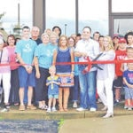Highland County Chamber of Commerce members and others are pictured at a ribbon-cutting ceremony for True Life Chiropractic.