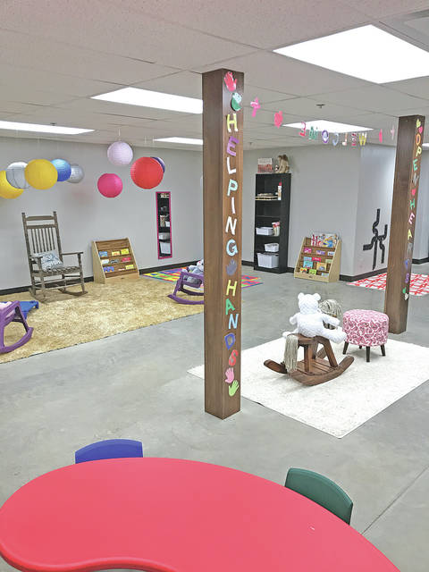 This photo shows part of the interior of the new Academy Preschool at St. Mary's Episcopal Church in Hillsboro.