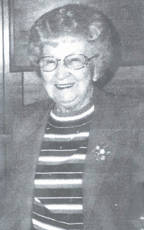 """A card shower has been requested for Pauline """"Polly"""" Satterfield Roberts who will celebrate her 96th birthday on Oct. 3. She likes to receive cards. Her address is: Pauline Roberts, Monarch Meadows Skilled Nursing Rehabilitation and Assisted Living, Room 105, 299 Commerce Drive, Seaman, Ohio 45679."""