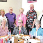 Fairfield classes of 1961 and 1962 meet for monthly lunch