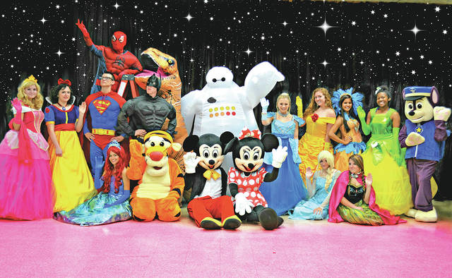 These 18 characters, plus three more surprise characters, will all be on hand for the Cookies with Characters event planned for Saturday, Oct. 14 at the Highland County Senior Citizen Center in Hillsboro.