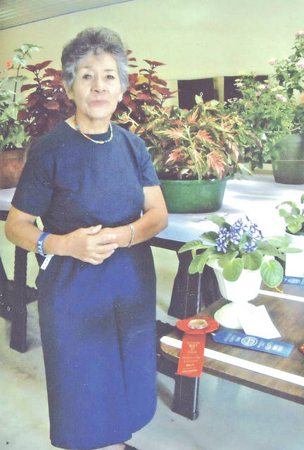 Teresa Cudkowicz took second place Best of Show Horticulture in the Friday Flower Show.