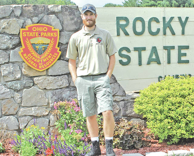 Brad Willis is the new naturalist at Rocky Fork State Park.