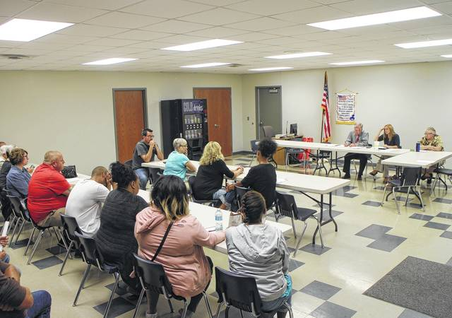 More than 20 people were in attendance at a meeting of Hillsboro City Council's employee relations commitee at the North East Street fire house Tuesday night for discussion revolving around Hillsboro Mayor Drew Hastings' social media comments that many said were racist.