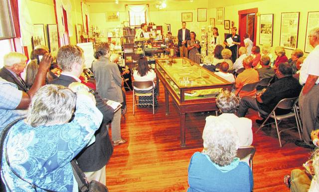 "In June, the Highland County Historical Society held a reception at the Highland House Museum to open its traveling exhibit on Brown v. Board of Education and its permanent exhibit on the Lincoln school. The ""marching mothers"" are being inducted into the Ohio Civil Rights Hall of Fame on Oct. 5."