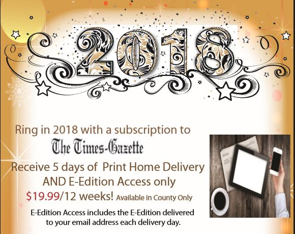 January Subscription Offer
