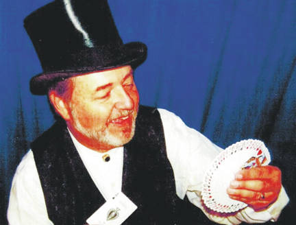 Local musician Steve Feris, who traveled the world for years performing on cruise ships and elsewhere, will present a children's magic show at 2 p.m. Saturday, Oct. 14 at the Highland House Museum in Hillsboro and another show at 7 p.m. Tuesday, Oct. 17 at the Highland House. Admission is free and children attending are recommended to be at least 8 years old.