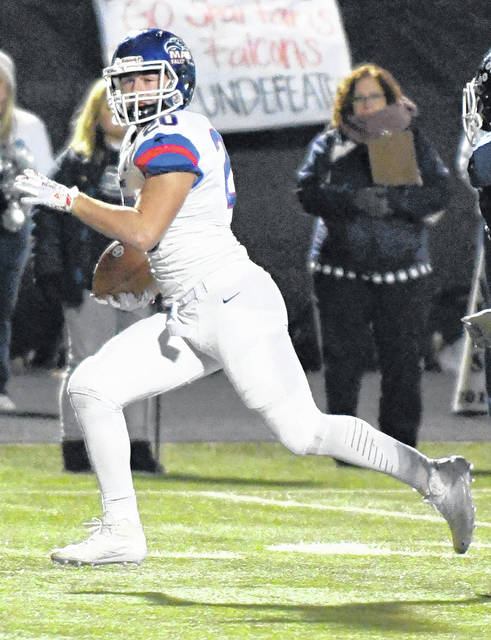 Ty Beam had a 33-yard touchdown run in the third quarter to give Clinton-Massie its final points of the night Friday in a 28-20 win over Valley View.