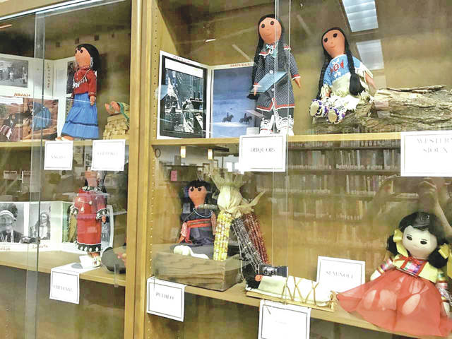 Gretchen Huffman will discuss these dolls during a Dec. 12 program at the Highland County District Library in Hillsboro.