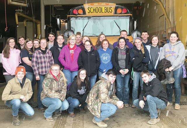On Feb. 17, the McClain FFA went to the Mt. Gilead Invitational. The livestock judging team received second place overall with seven members finishing in the top 50 individually. The equine judging team received 24th. The poultry team received eight with all four members finishing in the top 50. Teagan White placed 35th in Wildlife Management.