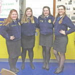 McClain FFA competes in speaking contest