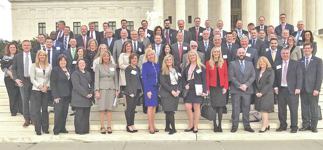 More than 100 Ohio Bankers League members, including four from First State Bank, visited Washington, D.C. last week to advocate on behalf of the Ohio banking industry at the annual OBL D.C. Fly-in.