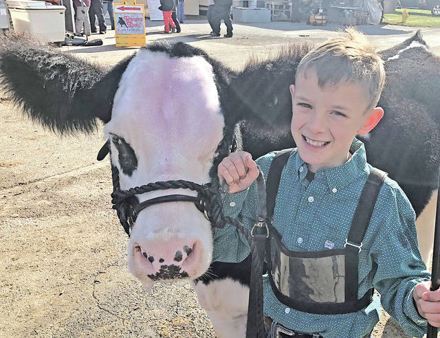Wyatt Osborn says he likes 4-H because it allows him to spend a lot of time with his family.