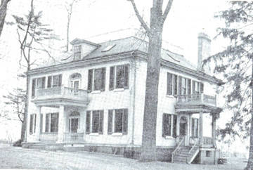 This photo supplied by the Highland County Historical Society shows the Scott House in Hillsboro around the turn of the century.