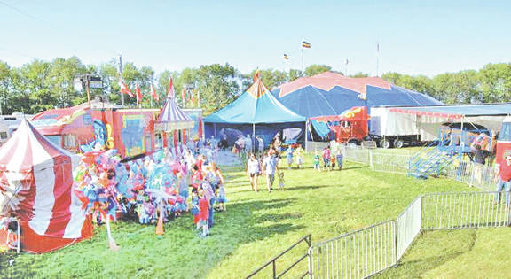 This is an example of the arrangement local residents can expect when the Kelly Miller Bros. Circus comes to Greenfield for two shows on May 31.
