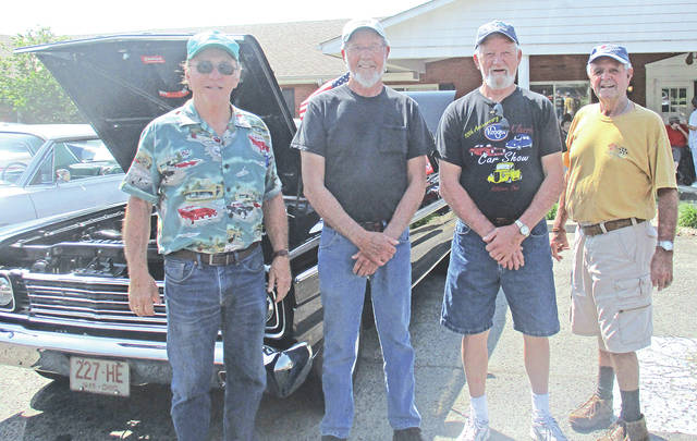 The Laurels celebrated National Nursing Home Week and one of the events was a cookout with classic cars for the residents ti views that were provided by Terry Cole, Doug Chaney, Butch Moore and Wendell Sparks.