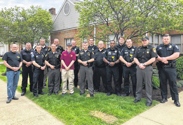 Law enforcement officers from the Highland County Sheriff's Office, Hillsboro Police Department, Chillicothe Police Department, Circleville Police Department, Pickaway County Jail, Ross County Sheriff's Office and Waverly Police Department recently completed specialized trauma training hosted by the Paint Valley Alcohol, Drug Addiction and Mental Health (ADAMH) Board.