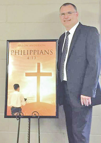 "Highland County resident Aaron Anderson has announced the release of his first book titled ""Philippians 4:13."" The book is published through Christian Faith Publishing and is based in Pike County in the community of Elm Grove, where he grew up. As a minister and a motor coach operator for Croswell out of Williamsburg, Anderson has traveled the United States and Canada. While traveling, he became a Christian author. Anderson, along with his wife Ingrid and sons, have made Highland County their home for the last 28 years. His book is available online through Amazon, Barnes & Nobles.com, Books-A-Million.com (BAM), Walmart.com and is coming soon to iTunes. It is also available at Becky's Relaxation Station in Greenfield."