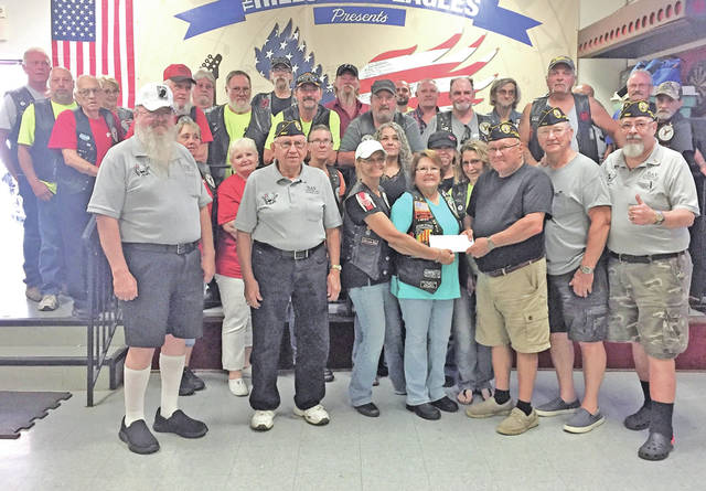 The third annual Eagle Riders 1161 DAV Poker Run was held on Saturday, June 2. This year's event raised $8,005 for the Lloyd C. Ludwick Disabled American Veterans Chapter 123.