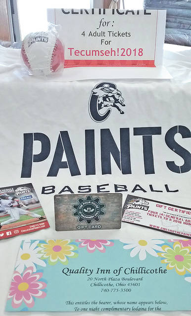 Some of the items the winner will receive through a raffle being held by G3 are shown.