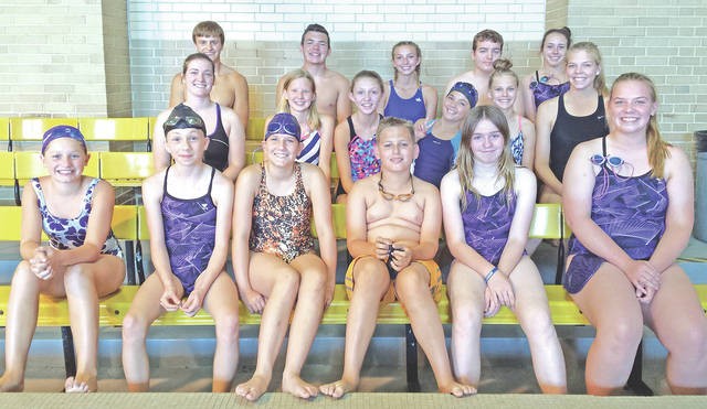 """Greenfield held its very first swim camp last week for students in grades 6-11 at no cost for those who chose to participate. Approximately 20 students attended the camp with the help of current and former members of the McClain swim team. Emily Parker, a 2018 graduate of McClain High School and two-year captain of the McClain Lady Tiger Sharks, came up with the idea to hold the camp at the McClain High School swimming pool. The swim camp was a service project for Parker's Girl Scout Gold Award. Parker has been a Girl Scout with Troop 1382 for a number of years. """"My Girl Scout Troop Leader, Michele Dodds, has been a positive influence in my life and has always taken the time to listen to me,"""" Parker said. """"I decided to do a swim camp to give the kids in our small community the opportunity to learn more about the sport and learn skills they will be able to use if they make the decision to join the swim team. The idea of the swim camp is to keep the camp going for years to come and help the swim team grow and become even stronger. I only wish the swim camp was offered when I was younger. Katie Dettwiller, the current girls high school swim coach, really helped me with my project and I know I will miss her greatly as I know the rest of the team will as they move forward next swim season."""""""