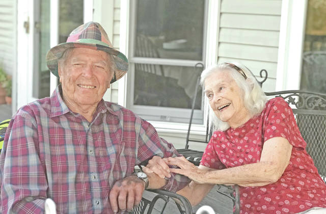 Paul and Evelyn (Arnott) Orr recently celebrated their 70th wedding anniversary. They were united in marriage by Paul's father, the Rev. John Wesley Orr, at the Greenfield United Methodist church on June 6, 1948. The couple have been active in the community with Paul serving the full gamut of church, educational and coaching roles. They thank those who sent cards and offered well wishes. The Orrs are the parents of Paula Orr (Howard Zody), Jamie Eselgroth (Charlie), Jim Orr (Rogie) and John Orr (Amy). They have eight grandchildren and one great-grandson. Paul celebrated his 95th birthday on Sunday, July, 8 with joyful family members in attendance. Evelyn will celebrate her 93rd birthday on Aug. 26.