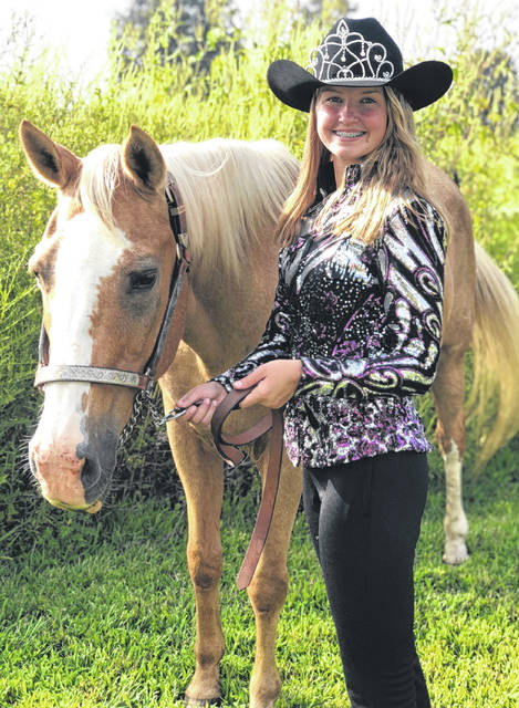 Sierra Benney, 15, of Lynchburg, is the daughter of Jai and Renee. Benny is a member of the Ready Set Show 4-H Club and has been in 4-H since she was 9 years old. She loves animals and has been showing horses since she was old enough to ride. Aside from 4-H, Benney is a member of the Lynchburg-Clay FFA Chapter and plays soccer, softball and basketball at Lynchburg-Clay High School. She is excited to represent Highland County as the 2018-19 Junior Fair Horse Queen, is planning to attend parades and events throughout the next year, and is looking forward to meeting the members of the community.