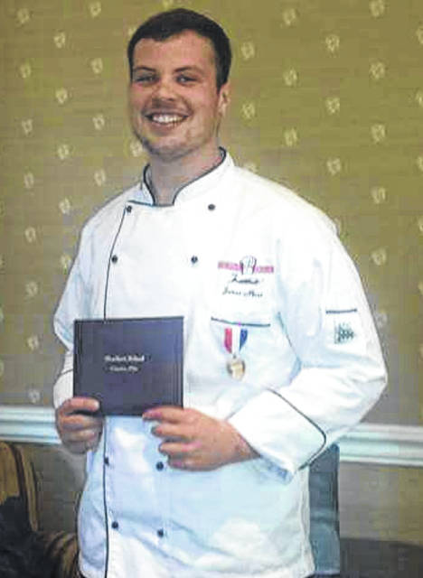 Greenfield native James Mann has a chance to study as a chef in Sweden.